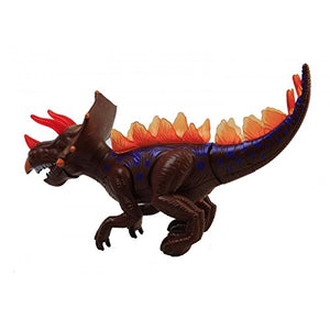 Toyshine Realistic Trex Dinosaur Toy with Roaring Sound, Walking, Lights (MOQ: 6Pcs)