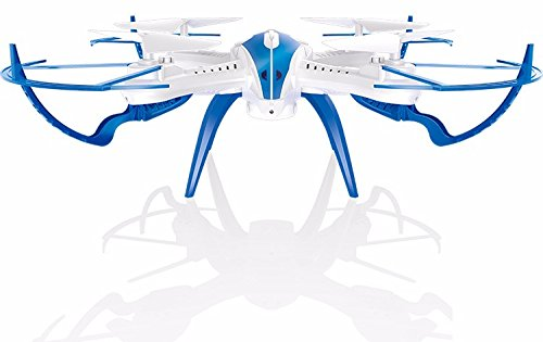 Toyshine 2.4 Ghz Remote Control Drone, 4.5 CH 6-Axis Quadcopter, Headless Mode, R/C Drone, TS-X20, White