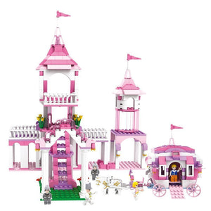 Toyshine Princess Castle Palace Building Blocks, ABS Plastic Construction Toy 510 Pieces - (3263)