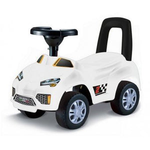 Toyshine My First Ride Sports Rider Ride-on Toy with Music, 1.5-3 Years, White