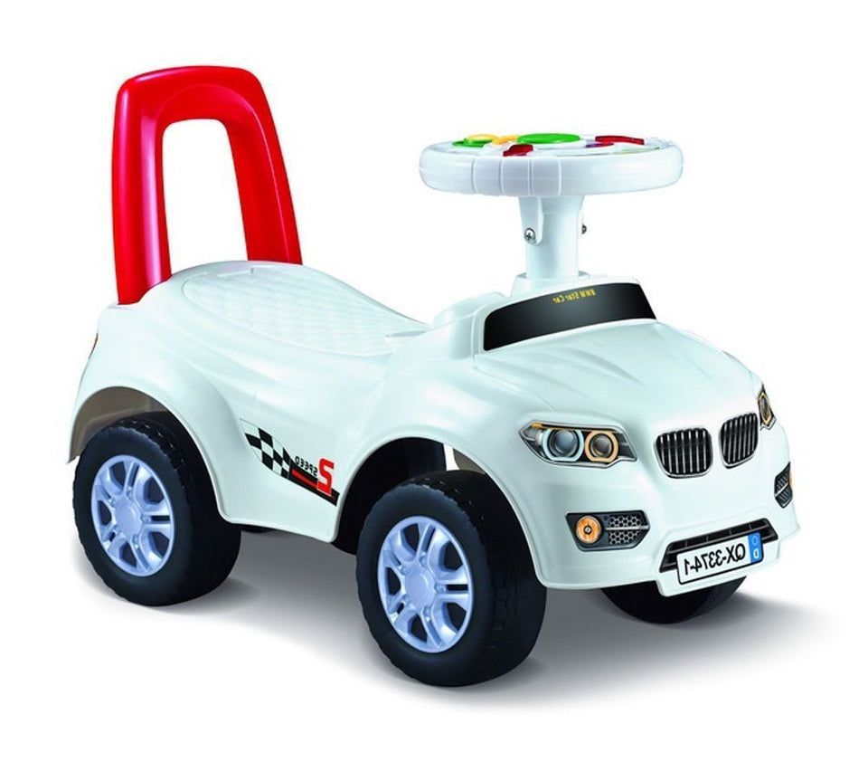 Toyshine My First Ride BMW Rider Ride-on Toy with Music, 1-2 Years, White