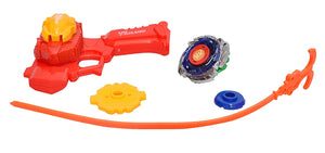 Toyshine Beyblade Metal Fighter with Metal Fight Ring and Long Handle Launcher