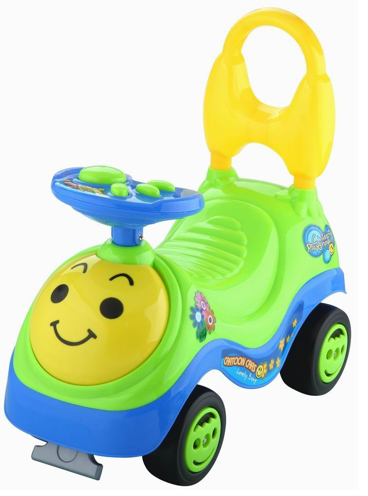 Toyshine Beetle Rider Ride-on Toy with Music, 1.5-3 Years, Assorted Color