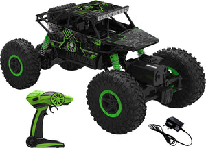Toyshine HB 1:18 2.4Ghz Rock Car Remote Car, 4WD, Green