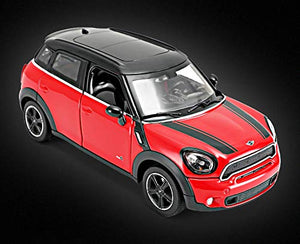 Rastar 1:24 Diecast Mini Countryman with Opening Doors and Detailed Interior and Exterior, Red