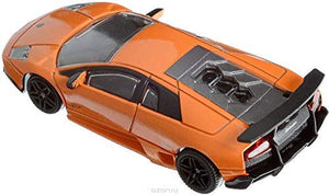 Rastar 1:43 Murcielago Car Model with Detailed Exterior, Orange