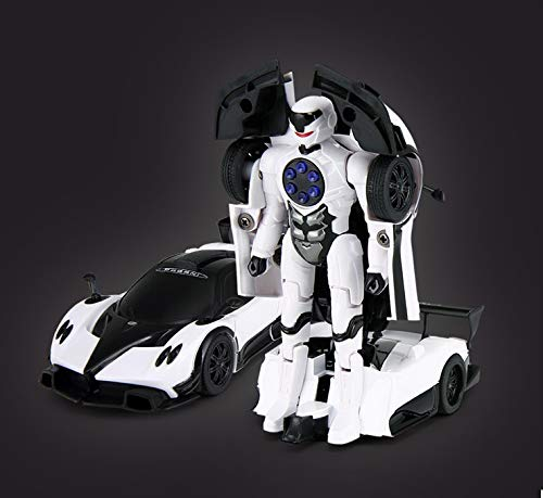Rastar 1:32 Pagani X Zonda Transformable Car with Lights and Sound, White
