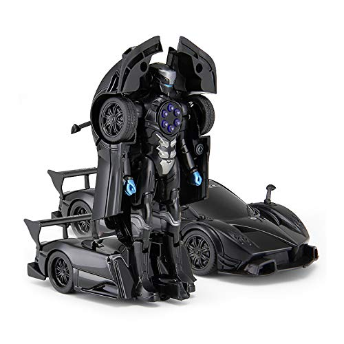 Rastar 1:32 Pagani X Zonda Transformable Car with Lights and Sound, Black