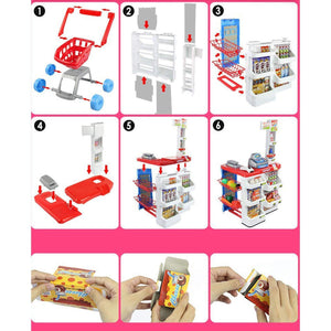 Toyshine Supermarket Play Set for Kids, Educational and Interactive Toy, Battery Operated