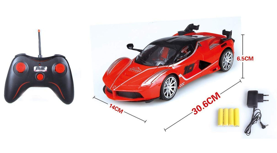 Toyshine 1:14 Ferrari Remote Control Car, Rechargeable, Assorted Color