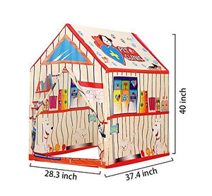Toyshine Pet Clinic Kids Play Tents Toys Fordable Pop Up Castle Playhouse