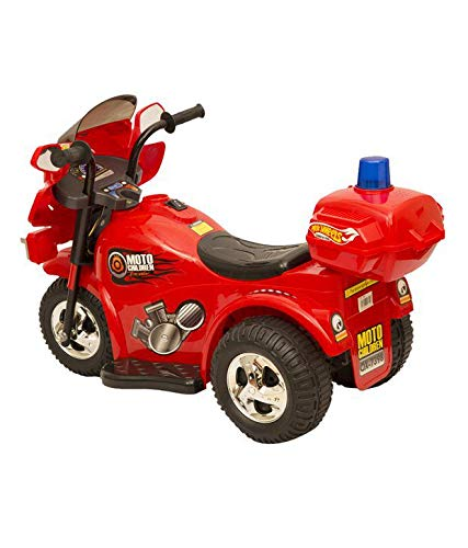 Toyshine Razer Battery Operated, Rechargeable Bike Ride-on for Kids, Red