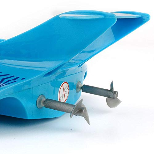 Toyshine 3222 High-Speed Remote Control Boat Ship, Rechargeable, Assorted Color