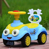 Toyshine Rose Car Ride-on Toy with Music, 1.5-3 Years, Assorted Color