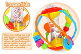 Toyshine Healthy Ball Baby Toys 3 6 Months Baby Rattle Educational Learning Activity Sensory Toys for Infants Babies