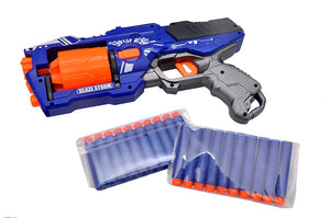 Toyshine Foam Blaster Gun Toy, Safe and Long Range, 20 Bullets
