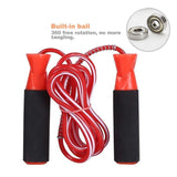 Toyshine Dixon Aerobic Exercise Boxing Skipping Jump Rope Bearing Speed Fitness Skipping Rope Black Wire
