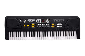 Toyshine Kids Piano Keyboard 61 Keys- Multi-Function Portable Piano Keyboard Electronic Organ with Charging Function