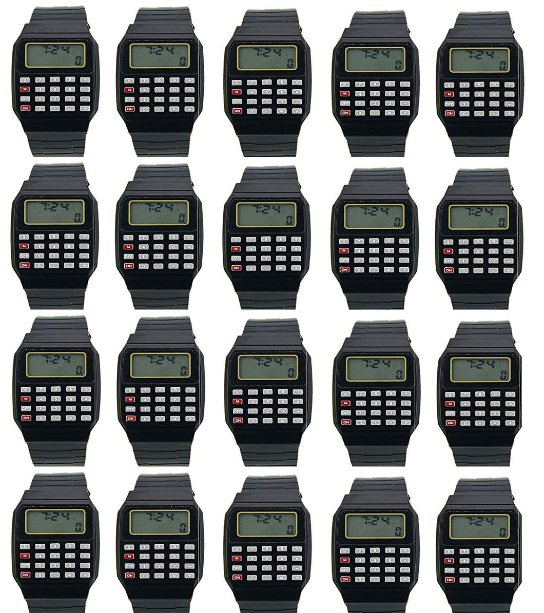 Toyshine Birthday Party Return Gift - 20 Multifunction Calculator Smart Band Party Favor