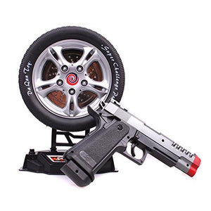 Tosyhine Laser Target Gun Toy, Music and Lights, Shooting Game