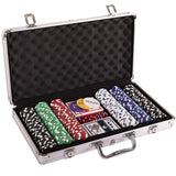 Toyshine 300 pcs Casino Style Poker Chips (11.5 Grams) Set with Aluminium Case