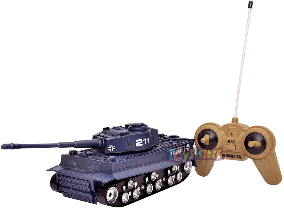 Toyshine Remote Control Tank Rechargeable Toy RC Toy for Boys Girls Kids