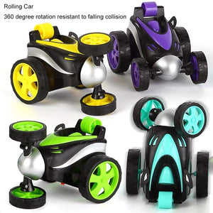 Toyshine Vibe Remote Control Car RC Stunt Vehicle 360°Rotating Rolling Radio Control Electric Race Car Boys Toys Kids Gifts