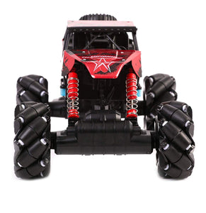 Toyshine RC Monster Truck RC Rock Crawler 4WD Off Road 1:12 Scale Drift Climbing 360 Degree Rotation 2.4Ghz High Speed Demo Mode with Colorful LED Lights for Kids Adult