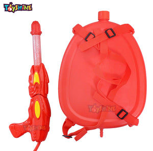 Toyshine Holi Water Gun with High Pressure, Back Holding Tank, 3.0 L, Motu Red