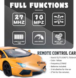 Toyshine 1:14 Remote Control Super Sports Car Rechargeable with Joystick Remote