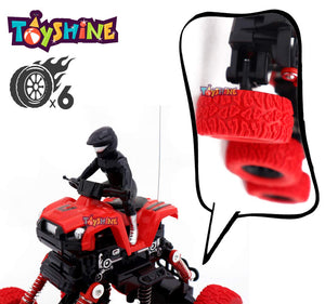 Toyshine RC Car Toy for Kids Remote Control Car, Rechargable Off Road Crawler Car All-Terrain