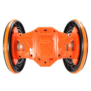 Toyshine 360 Degree Stunt Car with Lights Rechargeable with Wide Tyres, Assorted Color
