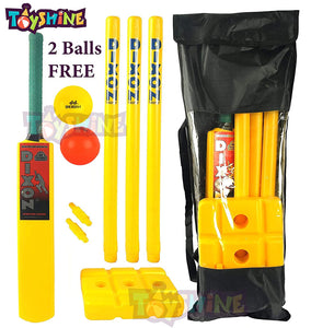 Toyshine 3 in 1 MEGA Sports Combo for Age 7-14 Years | Cricket | Badminton | Firsbee (Sports-10)
