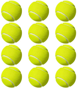 Toyshine Cricket Tennis Balls (Pack of 12) Yellow (SSTP)