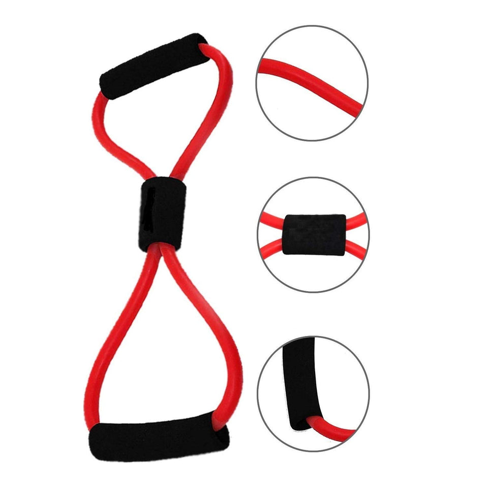 Toyshine Chest Expander Rope, Workout Pulling Exerciser, Fitness Exerciser Tube (SSTP)