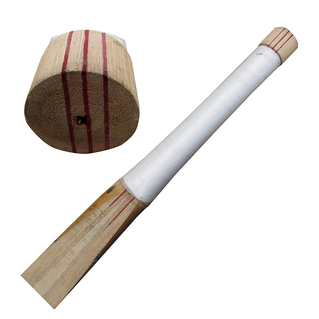 Toyshine English Willow Cricket bat Full Cane Handle
