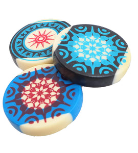 Toyshine Professional Carrom Striker for Carrom Board Game with Case (Pack of 3) Multicolor (SSTP)