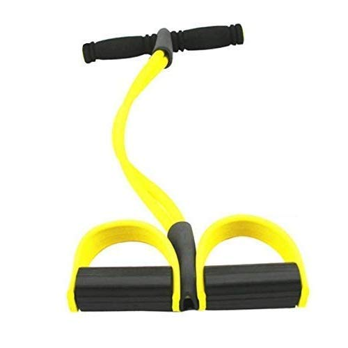 Toyshine Multifunctional Pedal Resistance Band for Abs, Waist, Arm, Legs, Workout (SSTP)