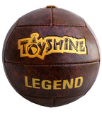 Toyshine Legend Home Football 5 No, Leather Look, Hand Stitched | Perfect for Home Parties, Games, Kids Play (SSTP)