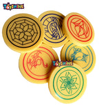 Toyshine Standard Size Carrom Striker with Smooth Surface and Excellent Re-Bounce ( Set of 6 ) (SSTP)
