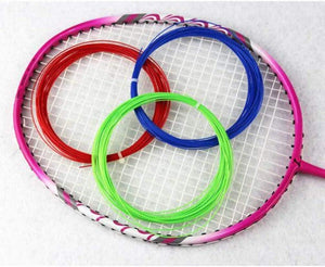 Toyshine 10m Durable High Elastic Badminton Racket String, Tennis Racket Line- Thread Wire (1Pc, Multicolor) (SSTP)