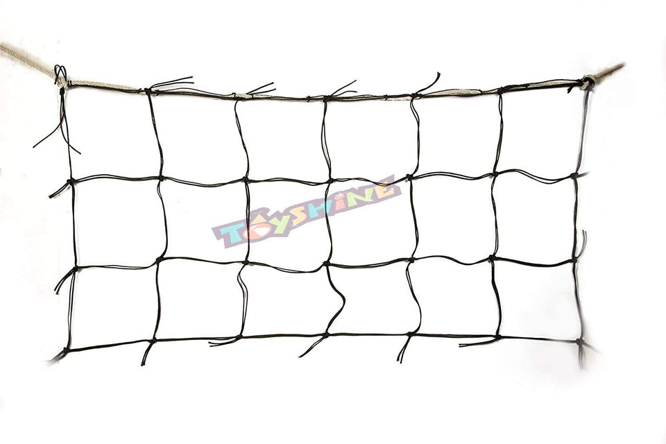 Toyshine Nylon(Football Net) Standard Size,(2 Pc net for Both Sides) (SSTP)