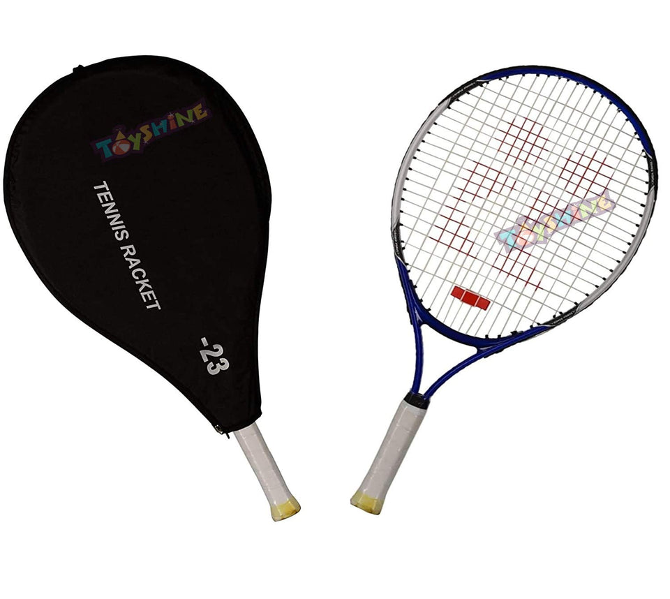 Toyshine Power 23 Professional Tennis Racquet,Good Control Grip,Strung with Cover (Aluminium),Color May Vary (SSTP)