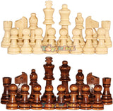 "Toyshine 13""x13"" Wooden Folding Chess Set,Handmade Game Board Interior for Storage for Adult Kids Beginner Chess Board (SSTP)"