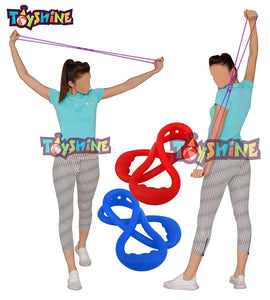 Toyshine Resistance Tube for Gym & Home Workout, Yoga Resistance Band(Color May Vary) (SSTP)