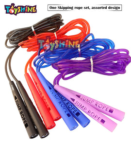 Toyshine Jump Rope - Adjustable - for Speed Skipping in Box (Color May Vary) (SSTP)