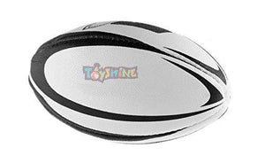 Toyshine Rugby - Professional Grade Ball, Heavy Duty & Durable - Ideal for Long Matches & Gameplay Size 5 ( Multicolor) (SSTP)