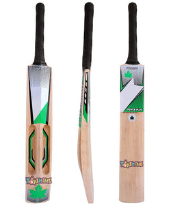 Toyshine Scoop Design Kashmiri Willow Cricket Bat Double Blade, Cricket Bat, Short Handle for Tennis Ball Play (SSTP)
