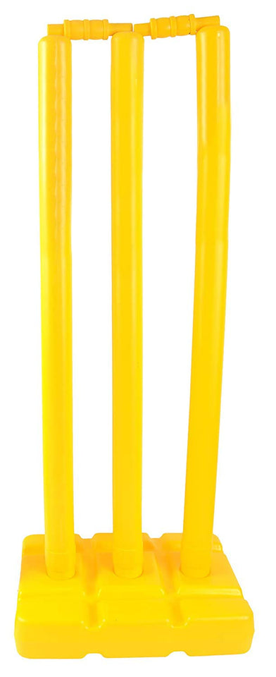 Toyshine PVC Wicket Set Plastic Large, Multicolor(SSTP)