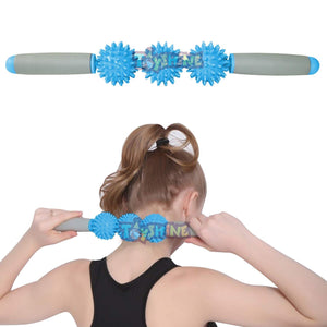 Toyshine Massage Stick Pressure Point Muscle Massage Roller, Color May Vary (SSTP)